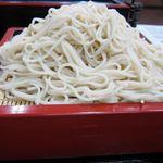 やぶ屋 - 蕎麦の色が白っぽい更科系