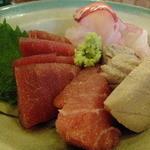 うなぎ 米花 - 刺身(マグロ、カツオ、鯛)