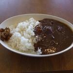 菊屋食堂 - ビーフカレー大(700円)