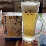 エルトリート - ノンアルの樽詰は初めて飲んだ、なかなか美味しかった。