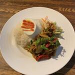 タイ料理 スワンナプームタイ - パットプリックゲンタイ♪