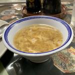 156446881 - とろみのある美味しいスープ