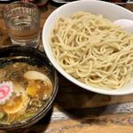 Menzaden - つけ麺(大盛)全景