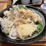 三宅 - 天ぷらぶっかけうどん