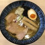 煮干しらーめん 田中にぼる - 煮干し塩(880円)