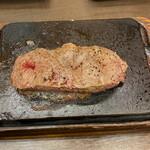 やっぱりステーキ - 料理写真:やっぱりステーキ(ミスジ)@1000
