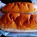 気仙沼パン工房 - クリームパンとくるみクリームパン