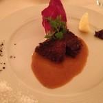 リストランテ イル バンビナッチョ - 和牛頬肉の煮込み