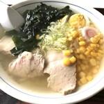 ちや食堂 - 料理写真:鱈しょっつるラーメン 780円