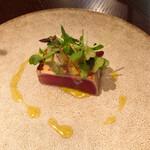 156452936 - キハダマグロ 夏野菜サルサ