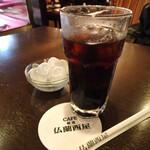 仏蘭西屋 - セットのアイスコーヒー