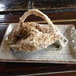 15646925 - サクサクして、うっすら塩味のヤマメの唐揚げおいしいですよ!