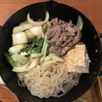 松阪まるよし - 天ぷら鍋すき焼き