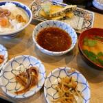 江戸前天ぷらめし からり - 料理写真:
