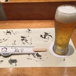 寿司処 福家 - 生ビールから