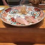 寿司処 福家 - 白身から