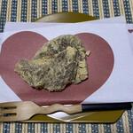 日本橋 長門 - ハートのお懐紙。可愛いでしょ♡
