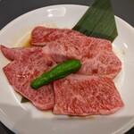 156469701 - 和牛味わいカルビ定食(1180円+税)