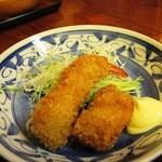秀哩 - フライは海老と豚肉でした