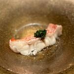 Sushi matsuura - キンキ