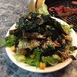六甲 - ランチのサラダ