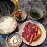 六甲 - ランチ六甲定食1000円