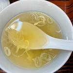ぎょうざの満洲 - スープ