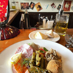 トラットリアカンパニオ - 前菜…いつもながらすごいです