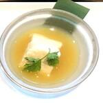 高台寺羽柴 - 料理写真:自家製くみあげ湯葉・季節のソースで
