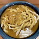 いづみや - 料理写真:「カレーうどん」@620+「大盛り」@130