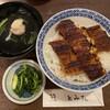 鰻 とみた - 料理写真:上うな丼です