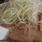 手打ちラーメン俵屋 - チャーシュー麺大盛り^_^;