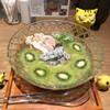 鶏Soba Toraや - 料理写真:冷やし塩キウイ鶏Soba  1,000円(税込)