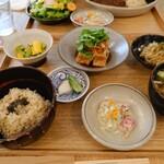 ブラウンライス - 一汁三菜定食(土日は前菜一品付き)