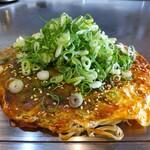 五三 - 料理写真:肉玉そば+ねぎかけ