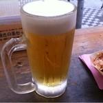 たこ焼道楽 わなか - ビール
