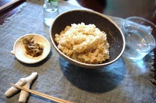薬草labo.棘 - 玄米の落花生ご飯♪