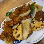 寿楽 - 酢豚