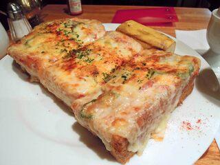 珈琲館 紅鹿舎 - ピザトースト
