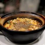 SEN YO - 料理写真:ランチの(A)麻婆豆腐=1000円