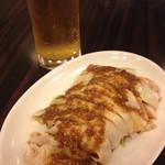 屏南 - 蒸し鶏の冷菜(バンバンジーソース又はネギソース)