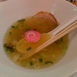 塩ラーメン スター&プラチナ - 麺瞬殺(笑)