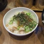 銀家 - ネギチャーシュー丼(午前中はサービス)