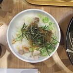 銀家 - ネギチャーシュー丼