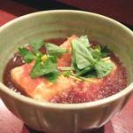 吉祥庵 - 揚げだし豆腐 蕎麦の実