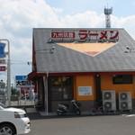山小屋 - 外観(北→南)