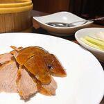 156614395 - 皮と肉も食べる北京ダック