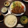 赤坂とん平 - 料理写真:ロースカツ定食(1,100円)