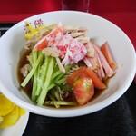 中国料理 江陽 - 「中華丼・冷やし中華ミニセット」冷やし中華