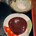 花葵 - 赤ワインソースと塩